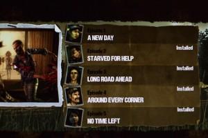The Walking Dead Computerspiel - 5 Episoden