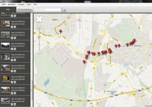 GPS Funktion Canon Software mit Bildern der 6D und GPS Tags