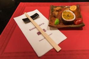 Sushimoto Gourment-Menü: Vorspeise