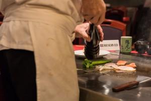 Sushimoto Gourment-Menü: Zubereitung