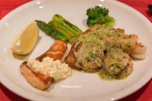 Sushimoto Gourment-Menü: Fisch-Gang