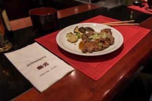Sushimoto Gourment-Menü: Hauptgang Ente