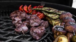 Entrecôte und Veggie grillen